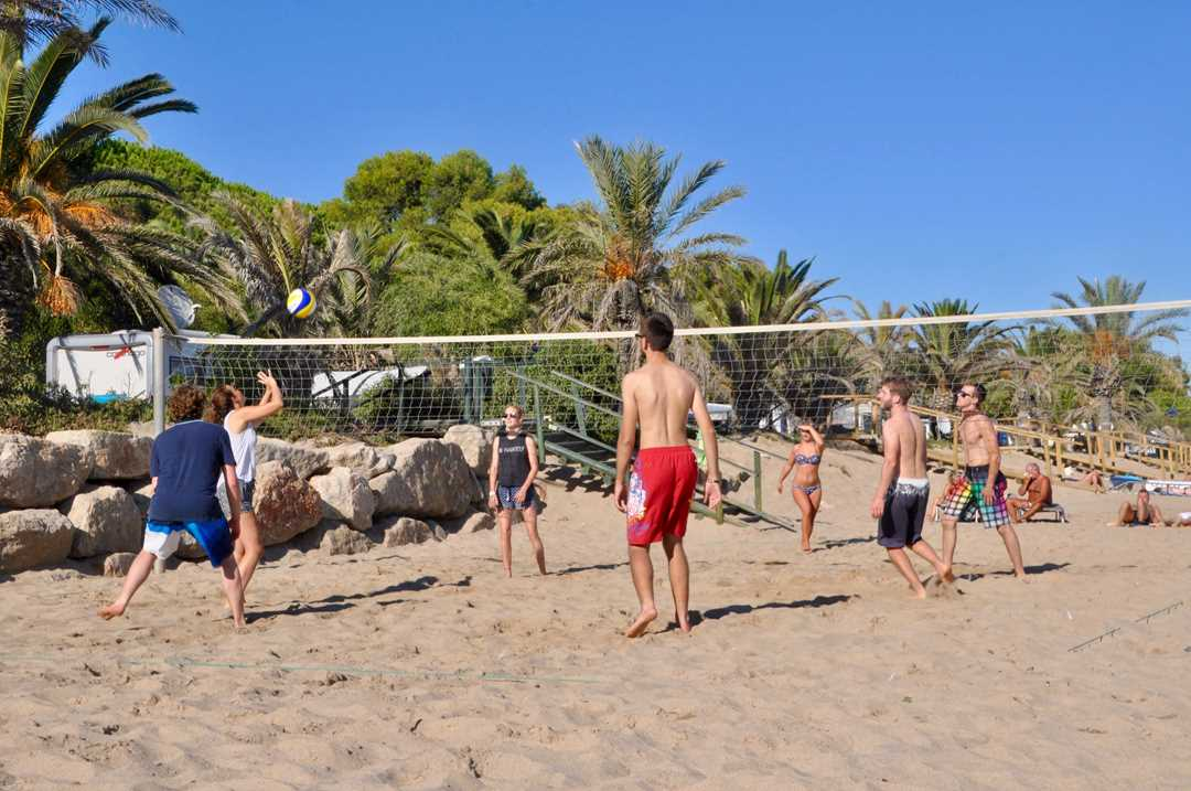BeachCamp in Spanien